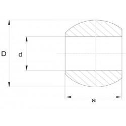 Kula łącznika dolnego, kat. 4-4 GALWANIZOWANA