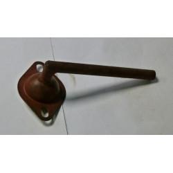Oprawa łożyska ślimaka kłosowego górnego z rurką 504018049