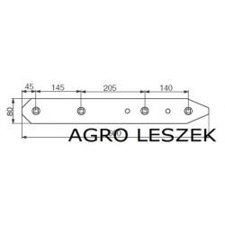 Lemken  płoza długa P-L  3411826  premium parts