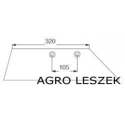Lemken lemiesz WG100L  3351959