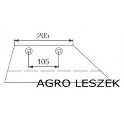 Lemken lemiesz WG10L     3351957
